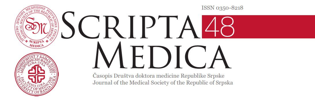 Scripta Medica – нови број (април 2017.)