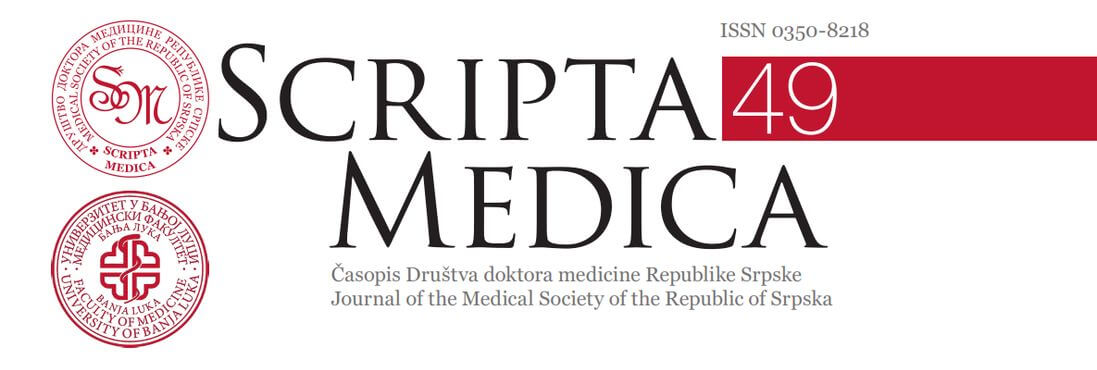 Scripta Medica – нови број (април 2018.)